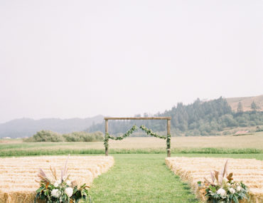 Black and White Ranch Wedding
