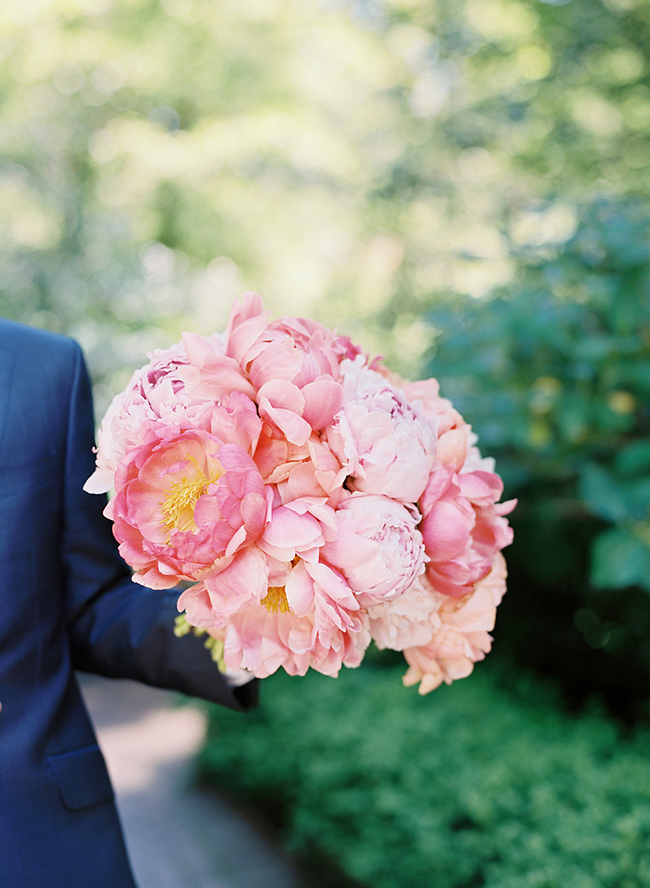 Peony Filled Spring Wedding Inspiration