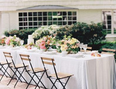 Peony Filled Spring Wedding Inspiration