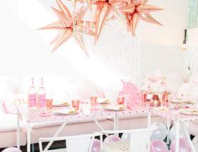 Iridescent Unicorn Birthday Party
