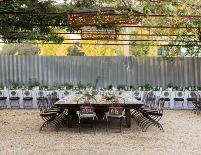Rustic Green and Grey Wedding