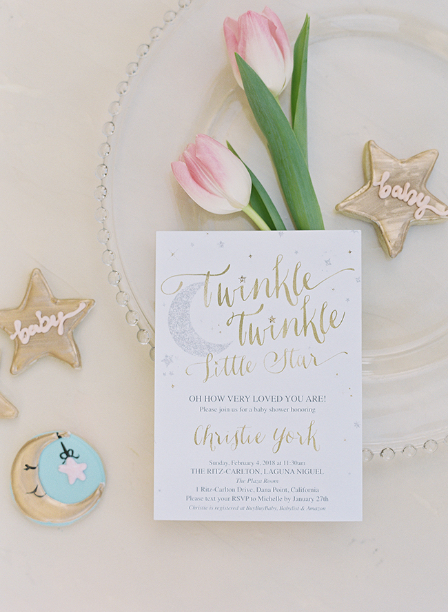 Twinkle Twinkle Little Star Themed Baby Shower