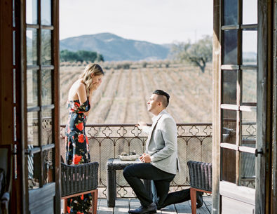 Proposal at Sunstone Winery