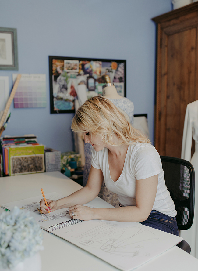 731da6d59e5a4 Below, Catherine will fill you in on all the details of actualizing her  dreams while we peek inside her workspace!