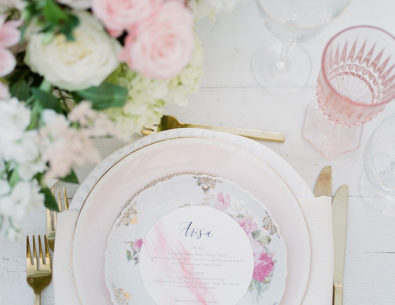 Creative Table Setting Ideas for the Reception