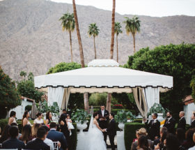Palm Springs Wedding with Modern Details