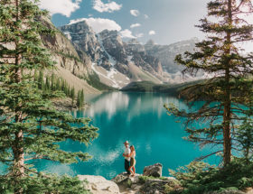 Banff National Park Engagement Photos