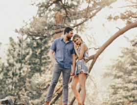 Enchanting Woodsy Engagement Photos in Los Angeles