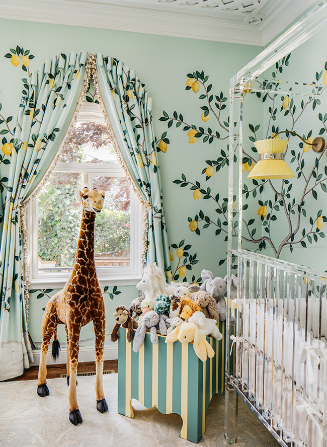 Lemondrop Nursery, nursery inspiration, nursery decor