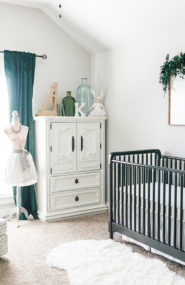 Gray and Hunter Green Nursery