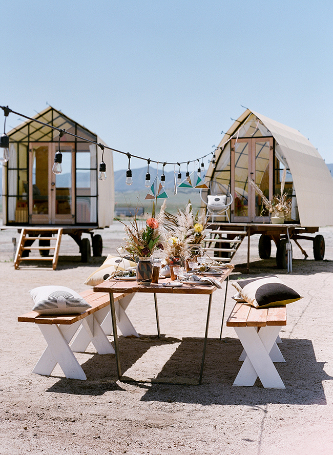 Glamping In California >> The Ultimate California Glamping Birthday Party Inspired By This