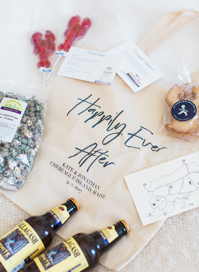 7 Fun Wedding Welcome Bag Ideas + What\'s Inside - Inspired By This