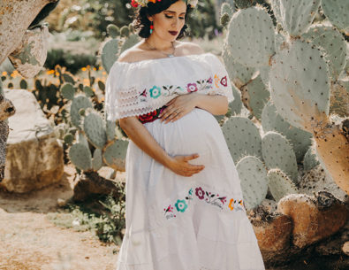 Frida Kahlo Inspired Maternity Photos