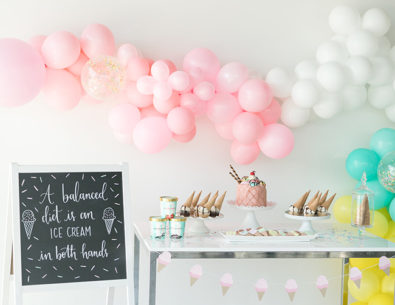 Ice Cream Social Bridal Shower
