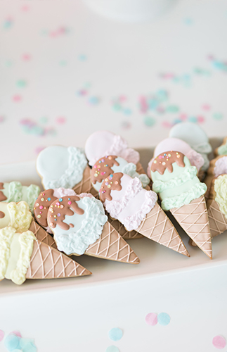 Ice Cream Social Bridal Shower