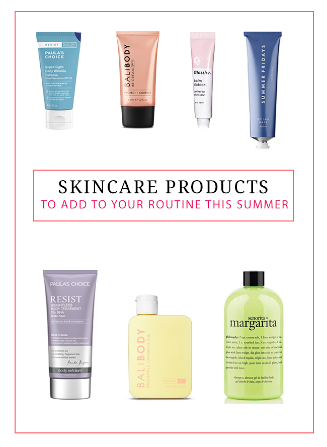 Skincare Products to Add to Your Routine This Summer