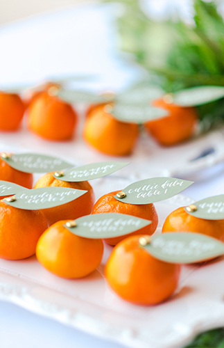 Bright Citrus Wedding Inspiration