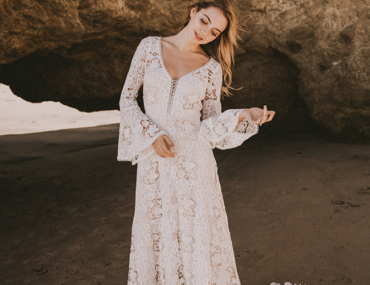 Crochet Lace Wedding Dresses