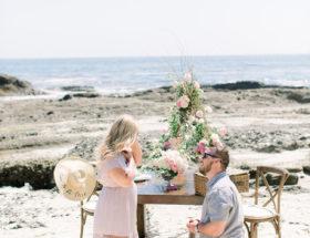 Picture Perfect Laguna Beach Proposal