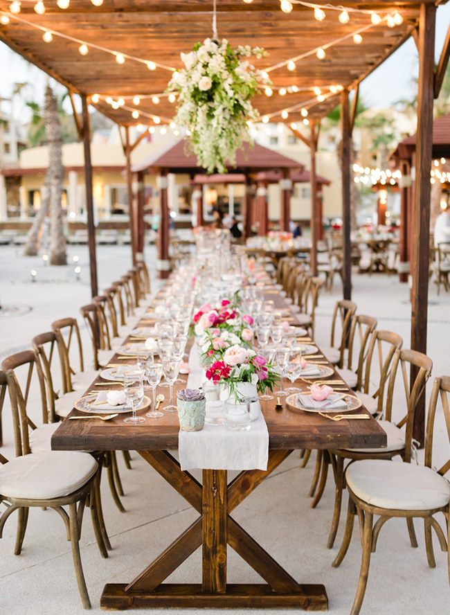 Elegant Beach Wedding in Cabo