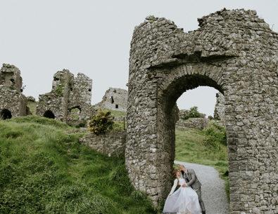 Intimate Castle Ruins Elopement in Ireland