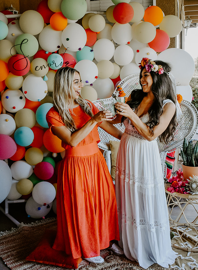 Vibrant Fiesta Bridal Shower