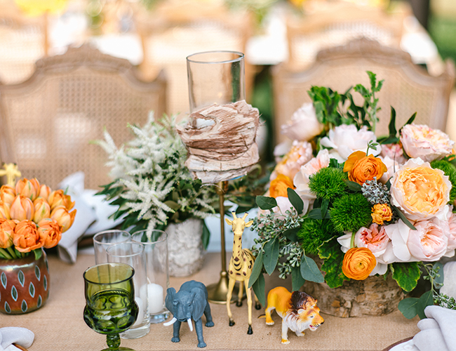 Rustic Safari Animal Baby Shower