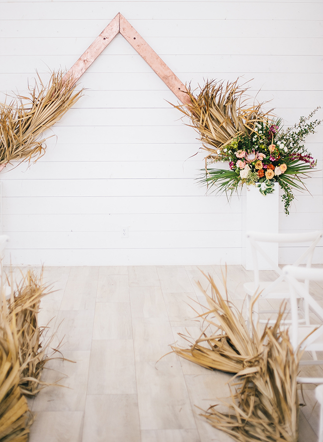 Bohemian Copper Wedding Inspiration