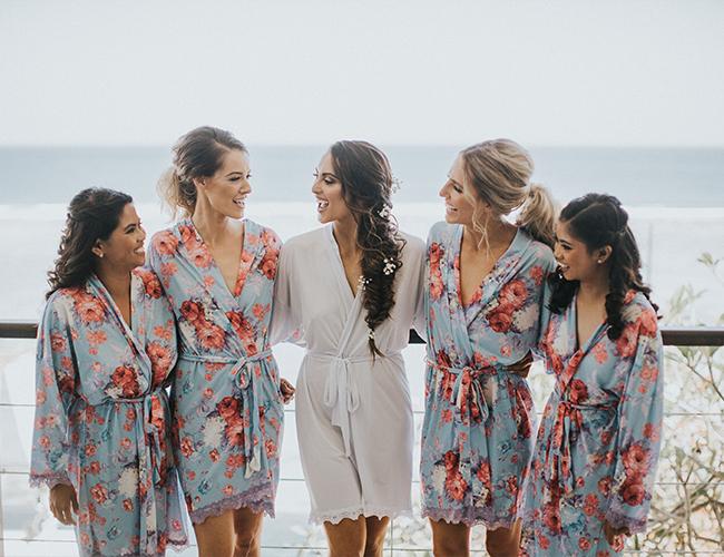 Elegant Beachfront Wedding in Bali