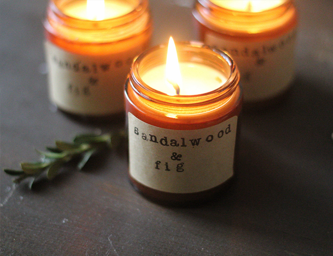 DIY Fall Candle Recipes