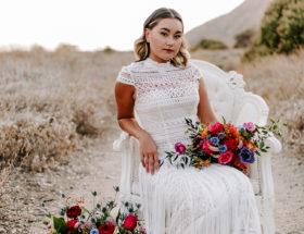 Bold and Colorful Bohemian Wedding Inspiration