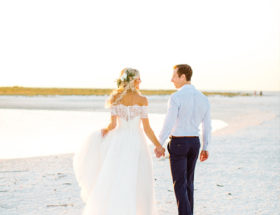 Chic Seaside Wedding in Florida