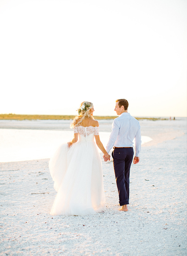 Chic Seaside Wedding in Florida