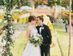 Botanical Geometric Wedding
