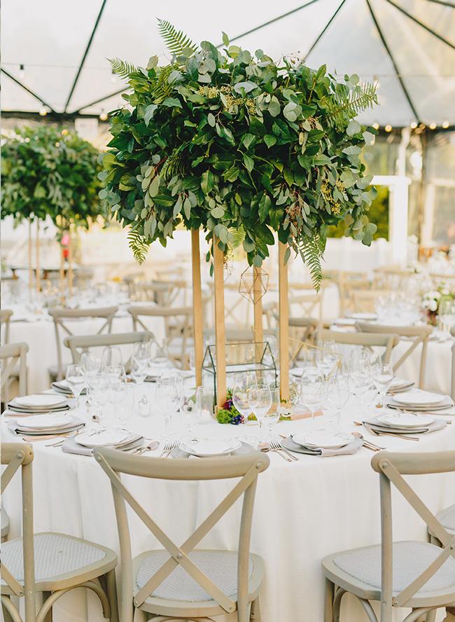 Botanical Geometric Wedding