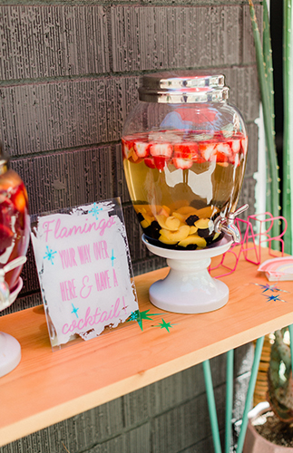Retro Tropical First Birthday Party