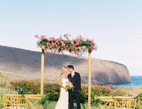 Modern Tropical Wedding Inspiration in Hawaii