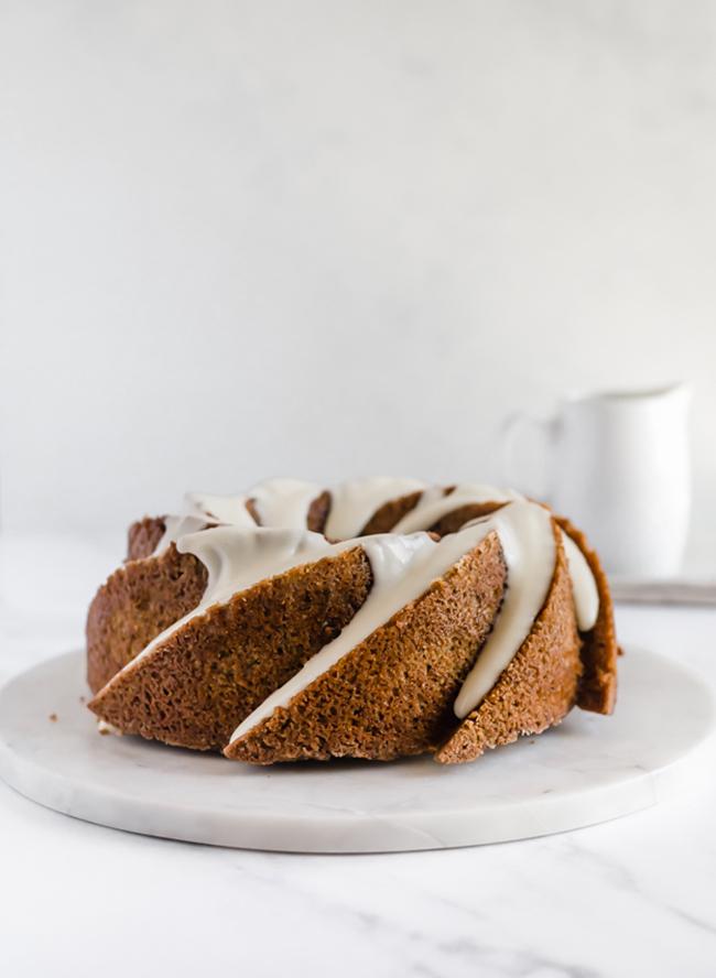 Hazelnut Chai Spice Bundt Cake Recipe