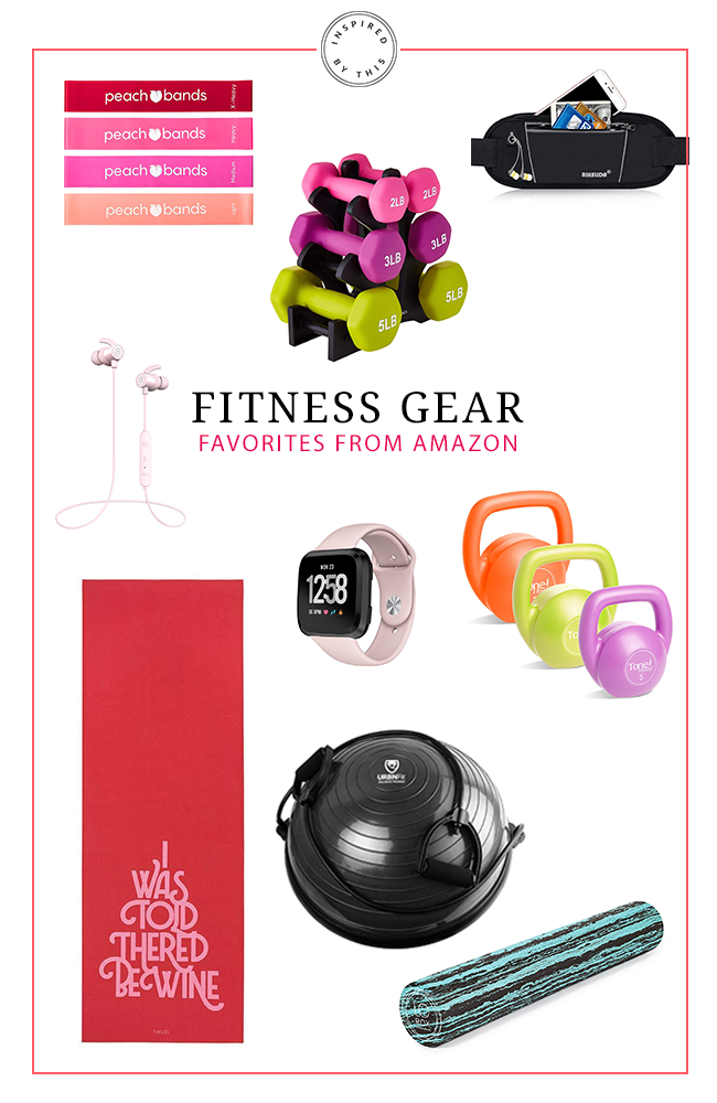 Our Favorite Fitness Gear from Amazon