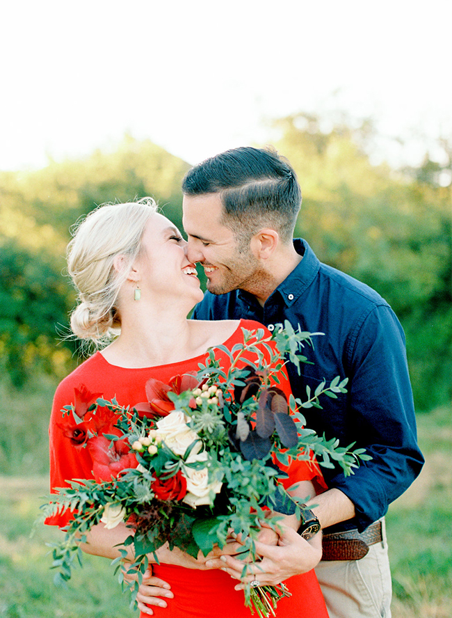 Romantic Red Anniversary Session