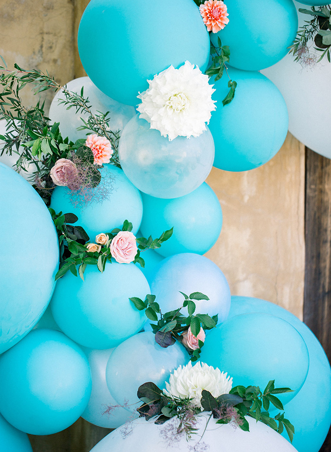 Whimsical Pink and Turquoise Wedding Inspiration