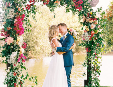 Creative Wedding Ceremony Backdrops