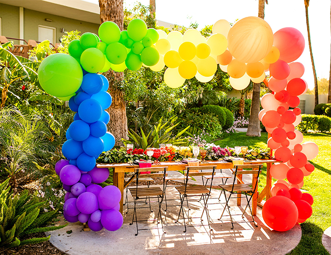 Rainbow 30th Birthday Party