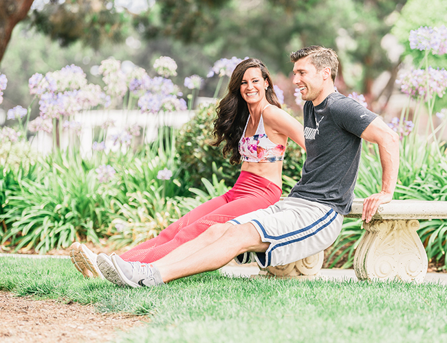 Fun Partner Workout You Can Do Anywhere