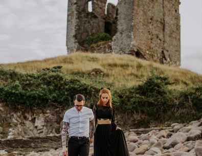 Castle Engagement Photos in Ireland