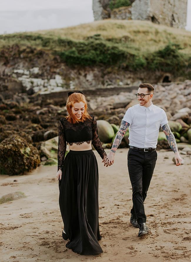 Castle Engagement Photos in Ireland