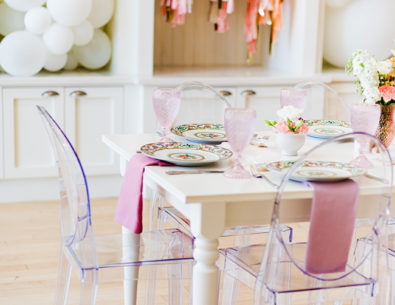 Feminine Bridal Shower Brunch