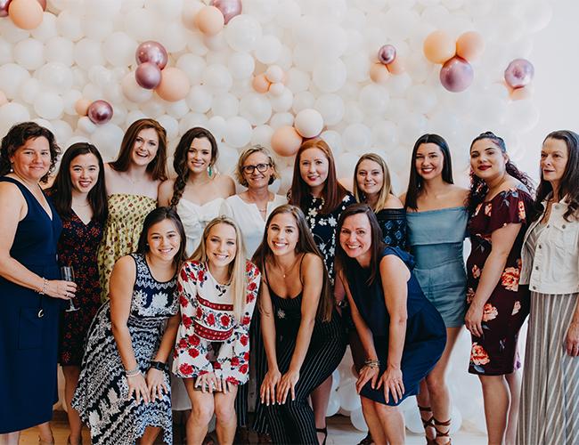 Feminine Bridal Shower Brunch