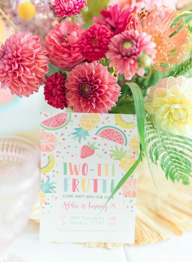 Two-tti Frutti Birthday Bash