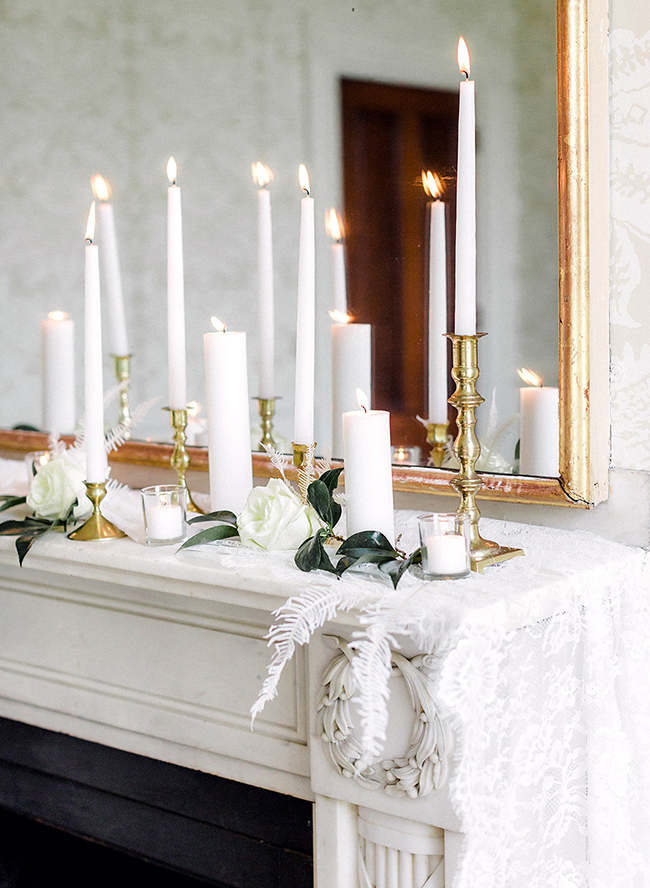 Timeless All White Wedding Inspiration